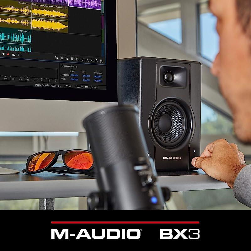 M-Audio BX3 3.5英寸有源监听音箱 1对装 ¥650.45