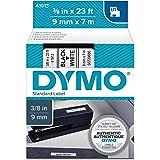 适用于 dymo 标签制作的新型-d1 标准胶带盒,黑白色 - 41913 by dymo