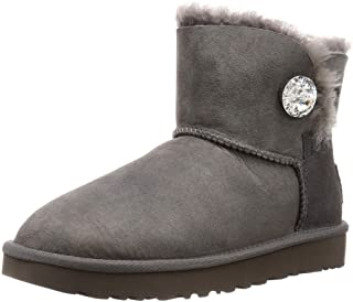 Ugg 羊皮靴 Mini Bailey Button Bling 女士