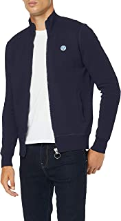 NORTH SAILS 男式全拉链带标识套衫