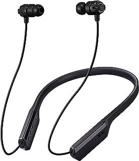 JVC Bluetooth 重低音 颈部带式无线耳机 长时间连续播放HA-FX11XBT-B