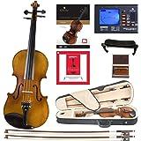 Cecilio CVN-500 实木乌木合身小提琴带 D'Addario Prelude 琴弦DA_1/2CVN-500…