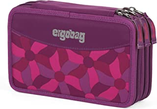 ergobag Maxi笔袋 填充 40 件 深紫色