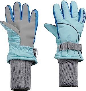 CAPTAIN STAG 手套 防寒 5指袜 长运动衫 儿童用 110厘米 UX-989 / UX-990