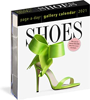 Shoes Page-A-Day Gallery Calendar 2021 [6.25
