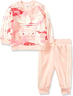 adidas 阿迪达斯 Originals 女婴圆领套装