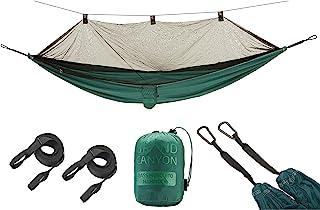 Grand Canyon BASS 蚊帐吊床 户外吊床 150公斤 旅行吊床 带蚊帐 - 轻便小巧 带树罩