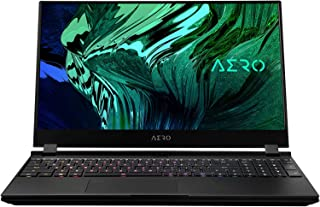 GIGABYTE 技嘉 AERO 15-YC 15.6 英寸笔记本电脑,UHD,AMOLED,Intel Core i9-10980HK,64GB DDR4,2x1TB NVMe SSD,NVIDIA GeForce RTX 3080 Max-...