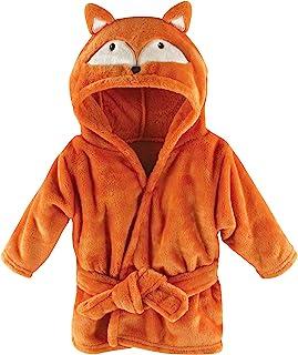 Hudson Baby 中性款婴儿哈德逊婴儿中性款婴儿毛绒泳池和沙滩浴袍罩衫,狐狸图案