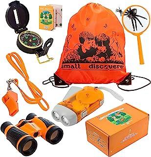 户外探险套装 - 儿童冒险包 - 完美 3-12 岁男孩玩具和女孩玩具 - 生日和圣诞节好礼物 - 儿童户外教育