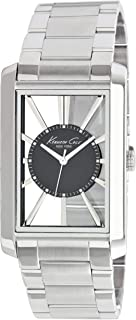 Kenneth Cole 男士 手表 New York Men's KC3995 Transparency Classic See-Thru Dial Rectangle Case Watch