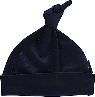 Anna Nicola 素色婴儿帽 新生儿用 I-103 B17 日本制造 藏青色