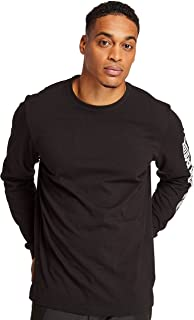 Timberland PRO 男士基板混合标志长袖 T 恤