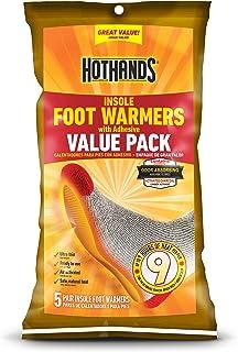 HeatMax 加热鞋垫带胶底(5 件装)