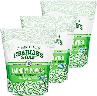 Charlie's Soap–无香型洗衣粉 100 Loads