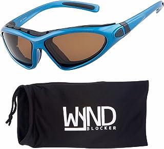 WYND Blocker Vert 摩托车与划船运动包裹偏光太阳镜