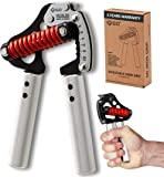 GD 铁手柄金属手柄练习器增强器(可调节手柄)手腕和前臂力量训练器