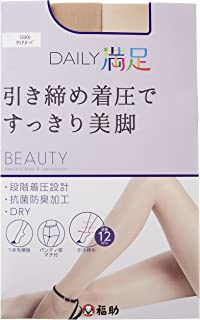 "(DAILY MANZOKU)DAILY MANZOKU 3P 日常满足 ""收紧压力"" 长筒袜"