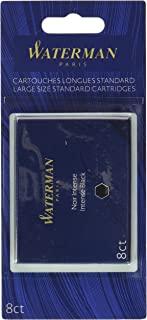 WAT52021 Waterman 钢笔 1-包每包 1 条 黑色