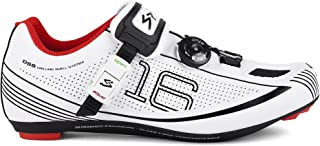 Spiuk 16 Road - 中性款骑行鞋,颜色白色/黑色,37 码