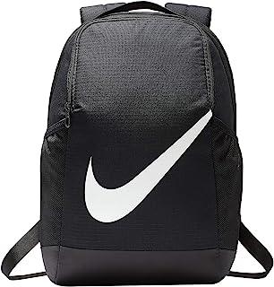 Nike 儿童 Y NK BRSLA BKPK-FA19 运动背包,黑色/(光面白色),MISC