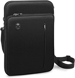 FINPAC 12.9 – 13 英寸平板电脑笔记本电脑内胆包,公文包单肩包适用于 12.9 英寸 iPad Pro 2018-2021 / MacBook Air 13 2018-2020 / MacBook Pro 13 2016-2020...