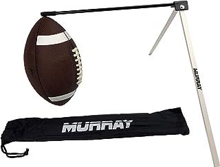 Murray Sporting Goods 专业足球踢球 T 恤 - 橄榄球运动员球衣支架
