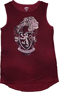 Harry Potter Womens Hogwarts House Juniors Muscle Tank Top