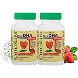Child Life 纯DHA膳食补充剂,90粒(2瓶)