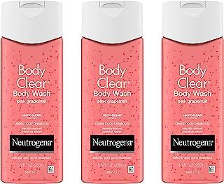 Neutrogena 露得清 水杨酸 沐浴露 粉红葡萄柚 祛痘 去角质 250毫升(3瓶)