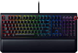 Razer BlackWidow Elite - 机械游戏键盘RZ03-02620200-R3U1 Green Switches - Tactile and Clicky