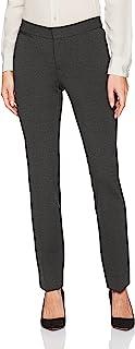NYDJ 女式小码 Ponte 长裤 杂碳灰 8 Petite