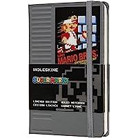 Moleskine 超级马力欧口袋笔记本(线纹,硬质封面,NES模块)