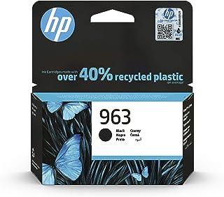 HP 惠普 963 ( 3JA26AE ) 原装打印机墨盒 ( 适用于 HP 惠普 OfficeJet Pro 9010 , HP 惠普 OfficeJet Pro 9020 ) 黑色