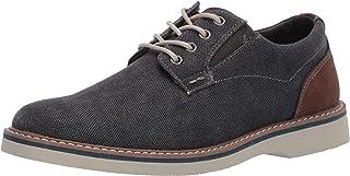 Nunn Bush 男士 Barklay 帆布平头牛津鞋系带