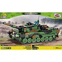 COBI Small Army坦克博物馆 豹纹2 A4,多色