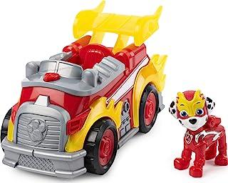 Paw Patrol Mighty Pups Super Paws 马歇尔的豪华车,带有灯光和声音