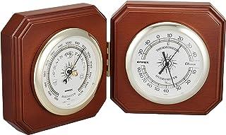 EMPEX 气象计 温度湿度计 双重气象计 放置用 日本制造 棕色 BM-718