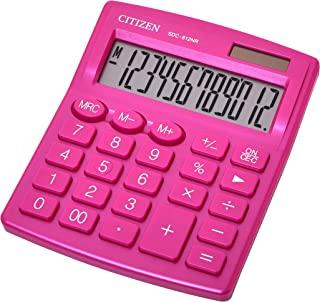 Citizen 西铁城 Z200543 书桌计算器 Sdc-812Nr,紫红色