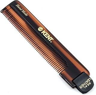 Kent NU22 男士手工口袋梳子,所有细齿发梳,适用于日常*造型*、胡须和胡须,干燥或与香膏一起使用,锯切和手工抛光,英国制造