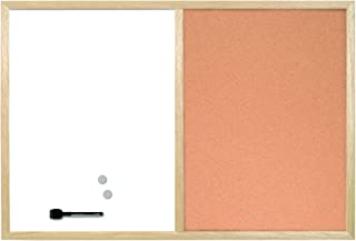 Bi-Office 组合板 磁性和软木表面 木质 40 × 30 厘米 40 × 30 厘米
