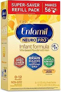 meadjohnson 美赞臣 Enfamil NeuroPro 铂睿 婴儿奶粉补充装,31.4盎司,890克