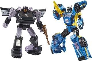 Transformers 变形金刚 Generations 塞伯坦之战·银河冒险旅行系列 Dominus 刑事追捕手办2件装,适合年龄8岁及以上的人群,5.5英寸(约13.97厘米)