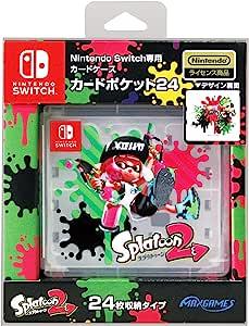 Nintendo Switch*卡袋24 Splatoon 2