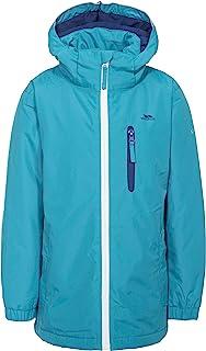 Trespass 女童 Heddar 保暖软垫防水冬季夹克带可拆卸兜帽