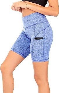 SPARKLE 短裤3-pocket yoga 女式锻炼主动 Wear 高腰收腹