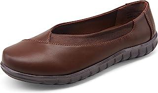 VEPOSE 女式芭蕾平底鞋一脚蹬散步鞋女士平底鞋舒适