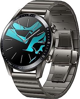 HUAWEI Watch GT 2 Elite (46mm), [Exklusiv +5€ Amazon Gutschein], Titanium Gray