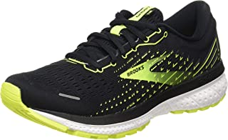 Brooks 缓震系列 男款 Ghost 13 跑鞋, Black/Nightlife/White, 10 UK