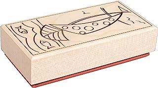 Rayher 29218000 印章 带耶稣在一艘船内 5 × 10 厘米 白色 标准
